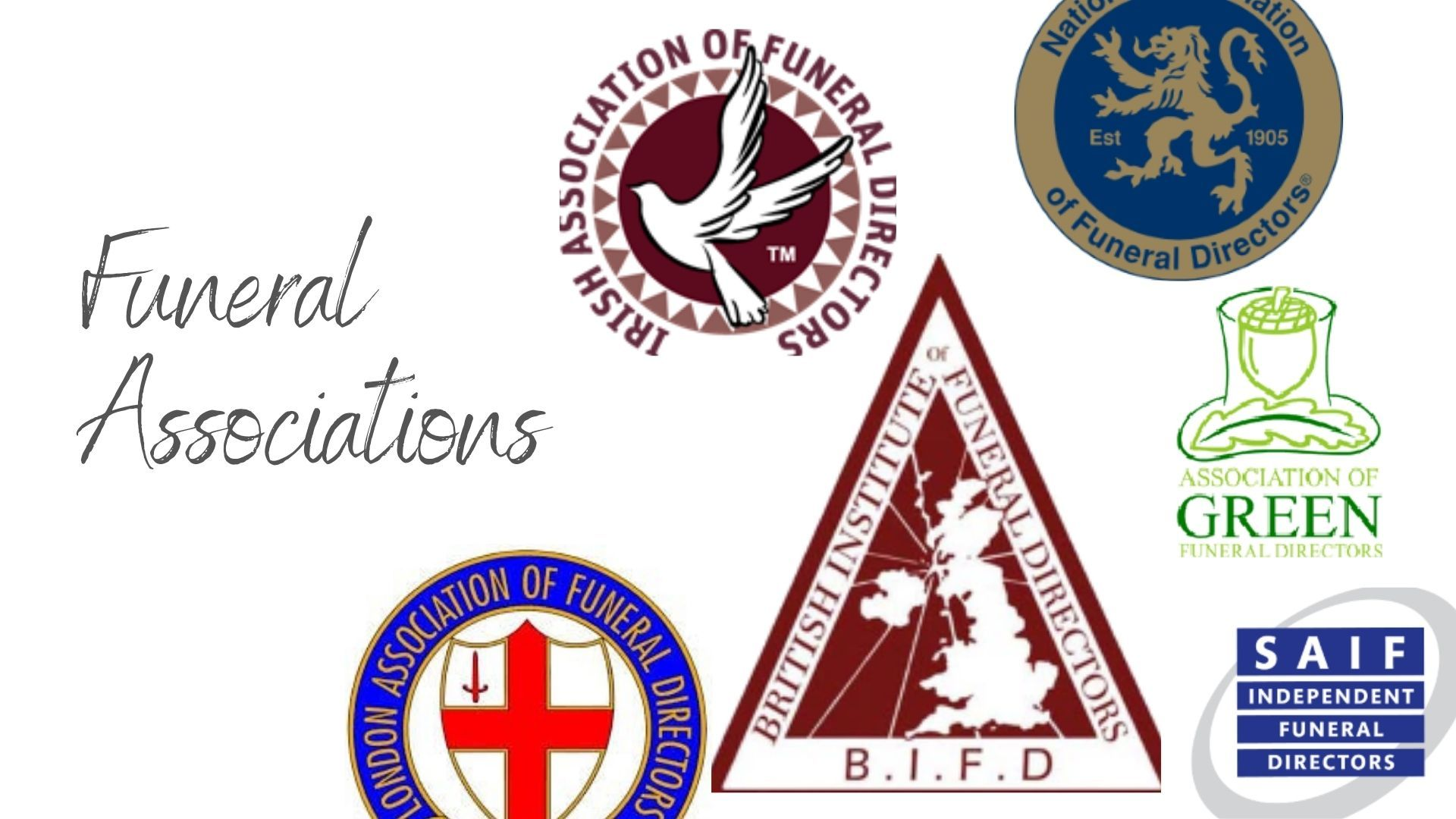 The Complete List of Funeral Associations in the UK and Ireland